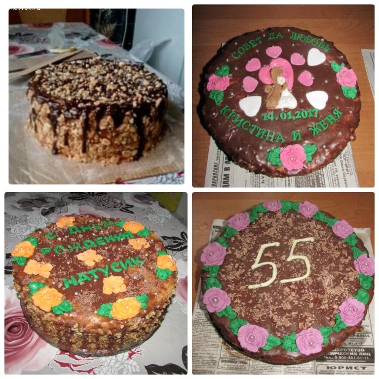 Домашние медовые тортики